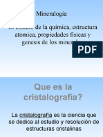 Conceptos Básicos de Cristalografía