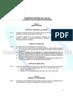 Reglamento de Estudios de Pre Grado Modificado Junio 2014 UNAC
