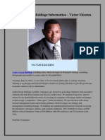 Asaba Group Holdings Information - Victor Edozien