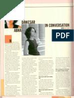 Abha Daweshwar TIA Nov Dec 2006 2