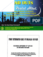 Data Posisi Hilal Awal Bln Zulhijah 1436 H-13 September 2015