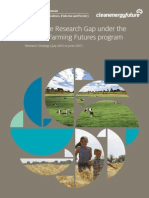 Filling the Research Gap under the Carbon Farming Futures program