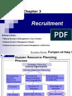 3.Recruitment (E )