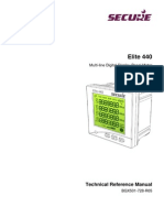 Elite 440 Technical Reference Manual BGX501-728-R05