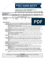 09.16.15 Post-Game Notes