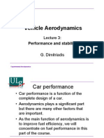 Vehicle Aerodynamics