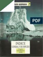 21. Índice General y de Especies