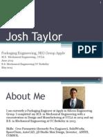 Josh Taylor Design Porfolio