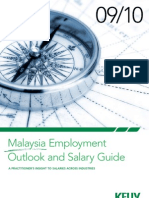 Malaysia Employment Outlook and Salary Guide