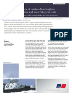 Regular Maintenance of Marine Diesel Engines