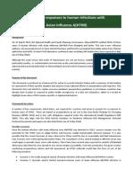 H7N9 Framework for Action 9 May 2014