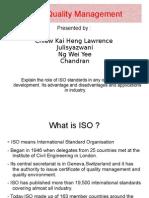 TQM- ISO Presentation