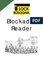 Block Bologna Blockade Reader