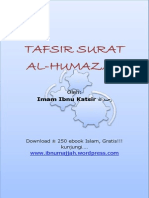 Tafsir Surat Al-Humazah