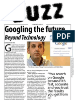The Buzz Newlsetter - Google Us for the Future-  10th March 2010