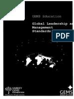 sam bagshaw- highlighted leadership standards