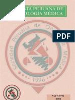 Revista Peruana de Oncología Médica - Volumen 7 N° 02 2008