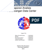 Laporan Analisis Perancangan Data Center