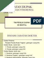 DUPAK JABATAN FUNGSIONAL