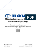 Installation & Service Manual for Use With Parallel Compressor Rack (RLE) SPANISH
