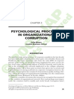Moore - Psychological Perspectives on Corruption
