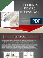 Secciones de Vias Normativas