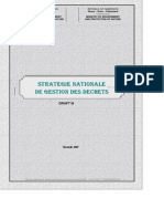 Strategie Nationale Gestion Dechets