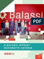 Balassi Intézet Műfordító Képzése