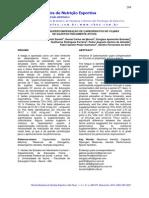 Nfluência Da Supercompensação de Carboidratos No Vo2máx