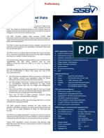 On-Board Payload Data Processor(OPDP) FFT Datasheet 1c