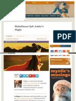 Www Ishafoundation Org Blog Yoga Meditation History of Yoga(1)