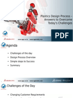 Design Process for Plastics - Answers to Overcome Todays Challenges