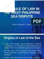 The Rule of Law in the West Philippine Sea Dispute by Justice Antonio Carpio