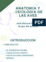 Antomia y Fisiologia de Las Aves