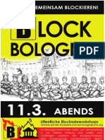 Blockade Workshop Infos Englisch