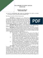 SL2004-105 (Session Law creating Franklin TDA)