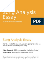 song analysis essay2