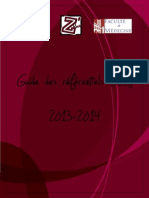 Guide Des Referentiels ECN 2013-2014
