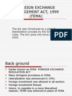 Foreign Exchange Management Act, 1999 (Fema