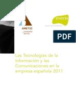 Las TIC en La Empresa Española 2011