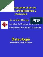Clase 2 Anatomía general de los huesos articulaciones y musculos