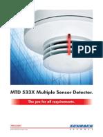 MTD 533X Multiple Sensor Detector