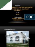 1er Trabajo Proyectos I PERFIL SNIP 05 B [Autoguardado]
