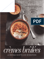 Cremes Brulees - Editions Marabout