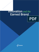 Innovation and the Earned Brand