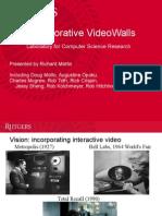 Rutgers Collaborative VideoWalls