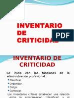 inventario de Criticidad