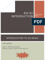 Introduction to as Powerpoint