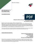Fife Diet March Recipes PDF