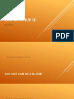 life of a nurse